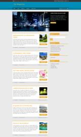 پیش نمایش موبایل قالب وردپرس Magazine