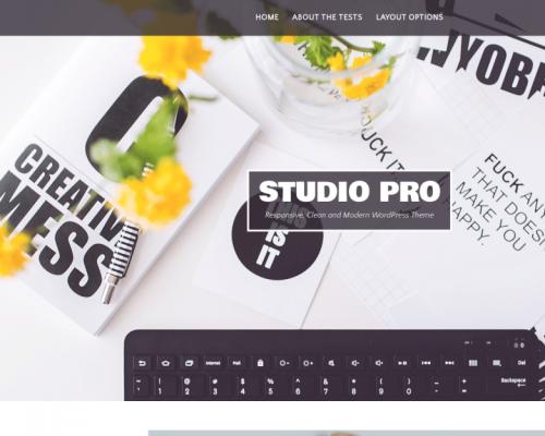 دانلود رایگان قالب وردپرس Studio