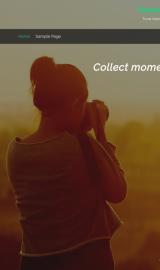 پیش نمایش موبایل قالب وردپرس Travel Notes