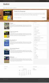 پیش نمایش موبایل قالب وردپرس BookRev Lite
