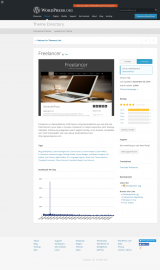 پیش نمایش موبایل قالب وردپرس Freelancer (CT of GeneratePress)