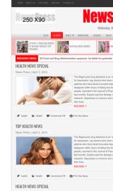 پیش نمایش موبایل قالب وردپرس NewsPress
