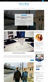 پیش نمایش موبایل قالب وردپرس Para Blog