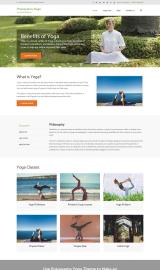 پیش نمایش موبایل قالب وردپرس Pranayama Yoga
