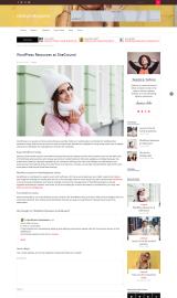 پیش نمایش موبایل قالب وردپرس Lifestyle Magazine