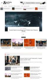 پیش نمایش موبایل قالب وردپرس Infinity Mag