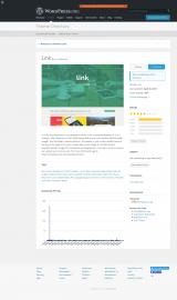 پیش نمایش موبایل قالب وردپرس Link (CT of Flat Bootstrap)
