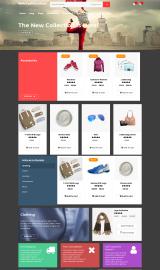 پیش نمایش موبایل قالب وردپرس Relic Fashion Store