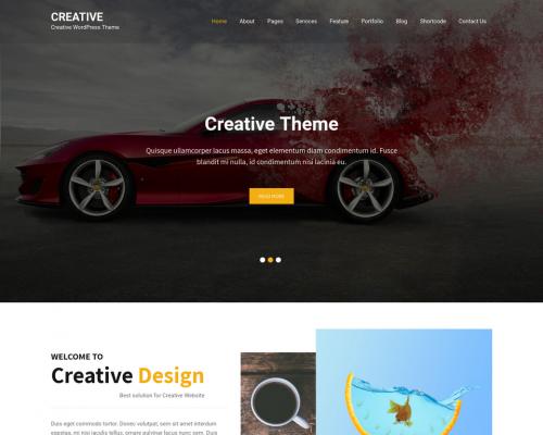 دانلود رایگان قالب وردپرس Creative Lite