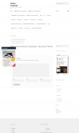 پیش نمایش موبایل قالب وردپرس eVision corporate