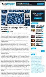 پیش نمایش موبایل قالب وردپرس Envo Magazine