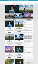 پیش نمایش موبایل قالب وردپرس BlogWP