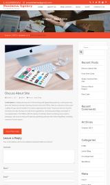 پیش نمایش موبایل قالب وردپرس Business Agency