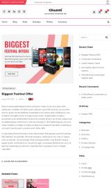 پیش نمایش موبایل قالب وردپرس Ghumti