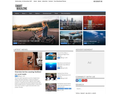 دانلود رایگان قالب وردپرس Smart Magazine