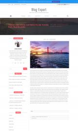 پیش نمایش موبایل قالب وردپرس Blog Expert