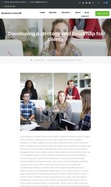 پیش نمایش موبایل قالب وردپرس Business Consultr