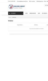 پیش نمایش موبایل قالب وردپرس Online Shop
