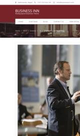 پیش نمایش موبایل قالب وردپرس Business Inn