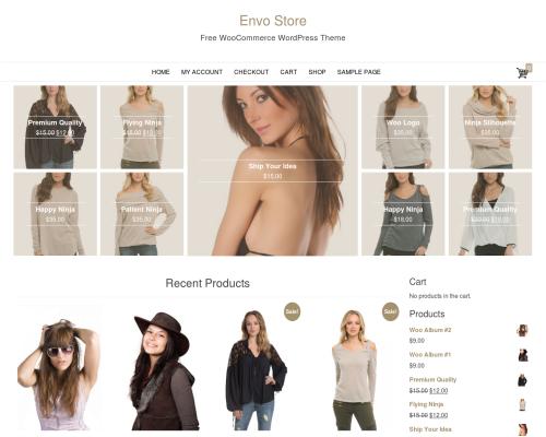 دانلود رایگان قالب وردپرس Envo Store