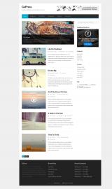 پیش نمایش موبایل قالب وردپرس GoPress