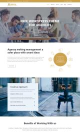 پیش نمایش موبایل قالب وردپرس Agency Lite