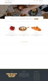 پیش نمایش موبایل قالب وردپرس Brasserie