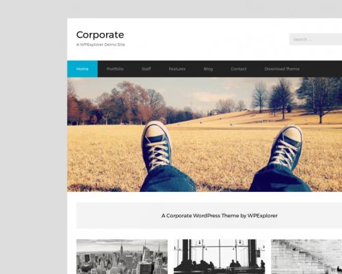 دانلود رایگان قالب وردپرس Corporate