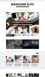 پیش نمایش موبایل قالب وردپرس Magazine Elite