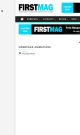 پیش نمایش موبایل قالب وردپرس First Mag