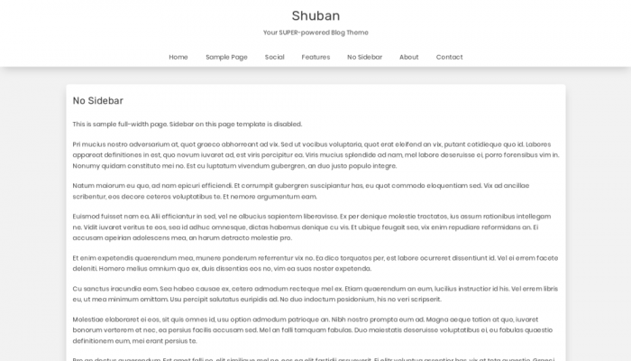 پیش نمایش دسکتاپ قالب وردپرس Shubhan