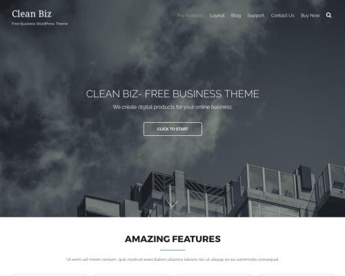 دانلود رایگان قالب وردپرس Clean Biz