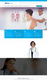 پیش نمایش موبایل قالب وردپرس Better Health