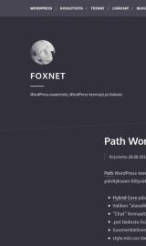 پیش نمایش موبایل قالب وردپرس Path