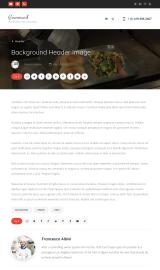 پیش نمایش موبایل قالب وردپرس Gourmand