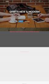 پیش نمایش موبایل قالب وردپرس Orbitr