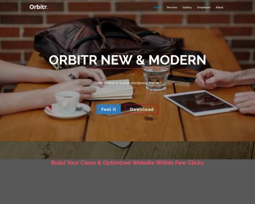 دانلود رایگان قالب وردپرس Orbitr