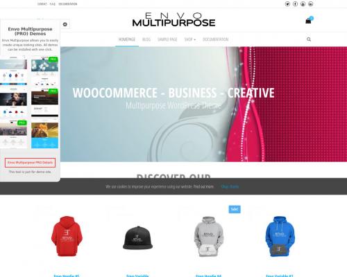 دانلود رایگان قالب وردپرس Envo Multipurpose