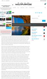 پیش نمایش موبایل قالب وردپرس Envo Multipurpose