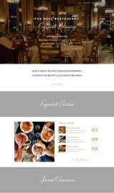 پیش نمایش موبایل قالب وردپرس Neve Restaurant