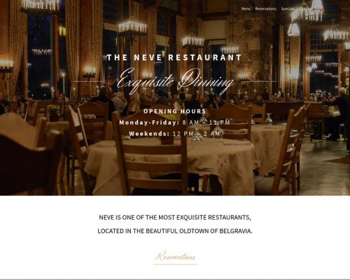 دانلود رایگان قالب وردپرس Neve Restaurant