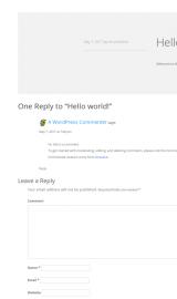 پیش نمایش موبایل قالب وردپرس Resumee