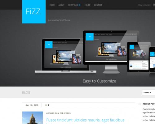 دانلود رایگان قالب وردپرس Fizz