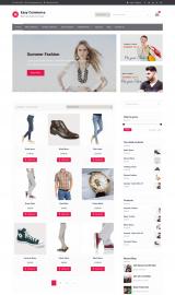 پیش نمایش موبایل قالب وردپرس Easy Commerce