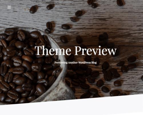 دانلود رایگان قالب وردپرس CoffeeIsle