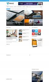پیش نمایش موبایل قالب وردپرس Vmag