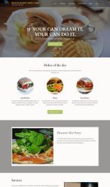 پیش نمایش موبایل قالب وردپرس Restaurant and Cafe