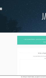 پیش نمایش موبایل قالب وردپرس Jax Lite