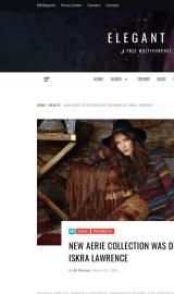 پیش نمایش موبایل قالب وردپرس Elegant Magazine