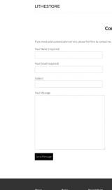 پیش نمایش موبایل قالب وردپرس LitheStore